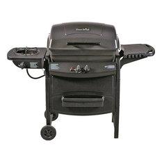 Char-Broil - Gas Grill, 35000 Btu Lp Grill, Side Burner - Outdoor Grills