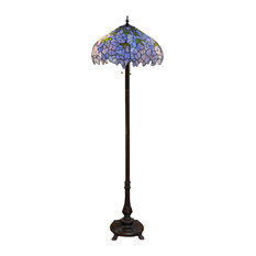 50 most popular victorian tiffany style floor lamps for 2018 houzz warehouse of tiffany inc warehouse of tiffany indigo 2 light tiffany style 19 aloadofball Image collections