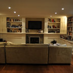 Fireplace/ TV wall unit - Traditional - Living Room - Toronto - by spaces inc.