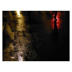 "Pixtury ""Luci Rosse"" Photo Print, Canvas, 30x40 cm"