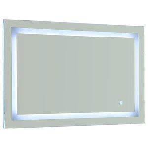 Vanity Art LED Lighted Vanity Bathroom Mirror With Touch Sensor, 43""