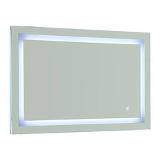 Vanity Art Led Lighted Vanity Bathroom Mirror With Touch Sensor