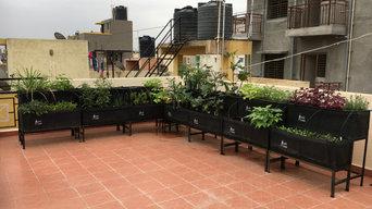 42 sq ft Automated Kitchen Garden