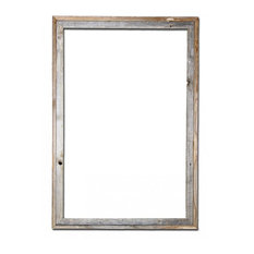 "Nash Signature Barn Wood Reclaimed Open Frame, 24""x36"""