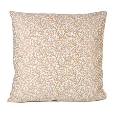 Reindeer Coral Petite 90/10 Duck Insert Pillow With Cover, 16x16