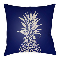 Surya Pineapple 18x18x4 Blue