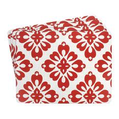 Hazuki Red Large Hardboard Placemats, Set of 4