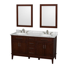 4-Door Eco-Friendly Transitional Double Bathroom Vanity