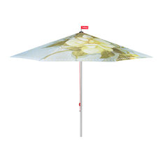Fatboy Colorful Garden Umbrella, Floral Pattern, Light Green Floral