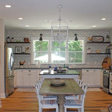 Fresh Farmhouse Kitchen Design in Joelton