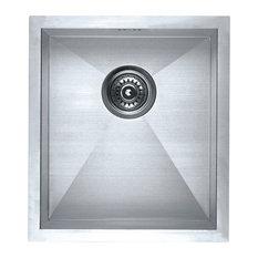 Zero Radius Undermount Single Bowl Sink