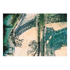 """Brush Strokes"", Unnatural Abstractions, 2003 Canvas Art, 32x48, Framed"