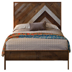 Rustic Panel Beds by Urban Evolutions