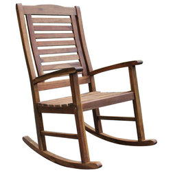 Traditional Outdoor Rocking Chairs by International Caravan