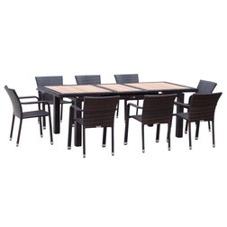 Tropical Outdoor Dining Sets by CRB Sourcing LLC