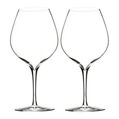 Waterford - Elegance Merlot Wine Glass By Waterford, Set of 2 - Wine Glasses