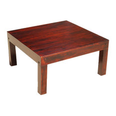 Sierra Living Concepts   Sierra Solid Wood Contemporary Large Square Coffee  Table   Coffee Tables