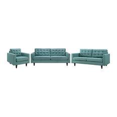 Laguna Empress Sofa Loveseat And Armchair Set Of 3