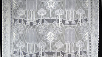 Arts & Crafts Lace Curtains by C. F. A. Voysey