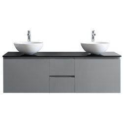 Inspirational Contemporary Bathroom Vanities And Sink Consoles by Vinnova