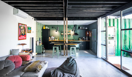 Houzz Tour: A Shipping Container Home That Will Blend Into Nature