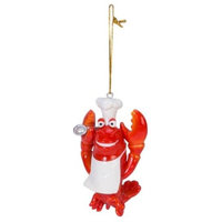 Beachcombers Chef Lobster Ornament
