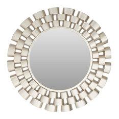 Premier Housewares - Champagne Links Wall Mirror, 105x105 cm - Wall Mirrors