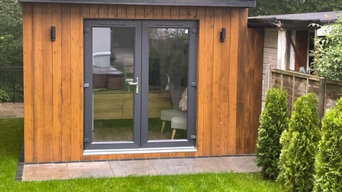 Garden office with shed included