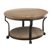 Geoff Coffee Table, Oak and Black