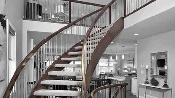 Curved Stair for Kimberley Homes