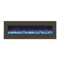 """Amantii 8 PACK 60"""" Electric unit with a 66 x 23 steel surround $1349 each"""