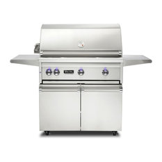 """Viking Range Corporation - Viking Professional 36"""" Natural Gas Freestanding Grill, Stainless Steel - Outdoor Grills"""