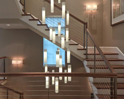 h ngeleuchte treppenhaus glas pendelleuchte modern