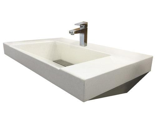 100 ada compliant bathroom sinks bathroom vanity w wavy edg
