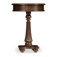 Hooker Furniture 5381-80117 18 Inch Diameter Rubberwood Pedestal - Wood