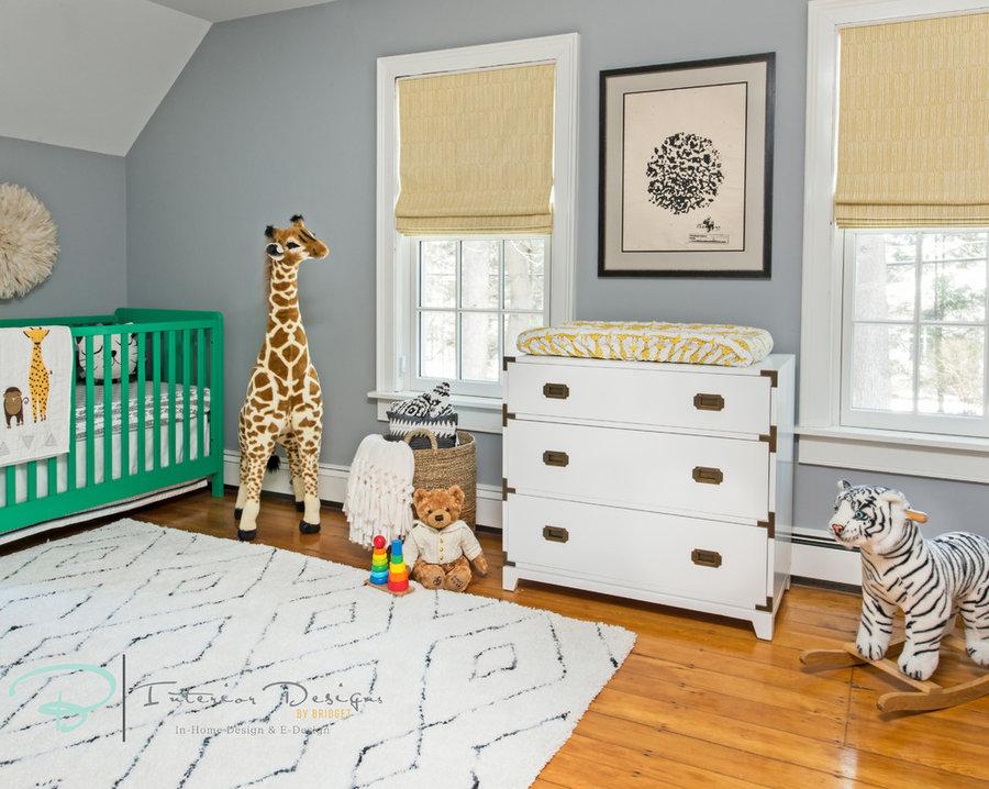 Baby's Gender Neutral Safari Theme Nursery