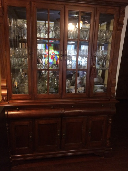 Moving Do I This China Hutch