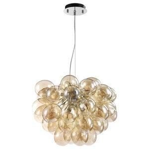 Balbo Balloons Pendant Light, Gold