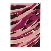 Safavieh SOH329-8 Soho 8' x 10' Rectangle Wool Hand Tufted - Pink