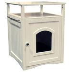 Furhaven Hidden Kitty Litter Box Enclosure For Utility And