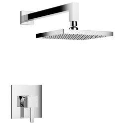 Modern Showerheads And Body Sprays by BATHROOM PLACE