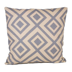 Diamond Moor 90/10 Duck Insert Pillow With Cover, 18x18