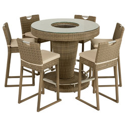 Contemporary Outdoor Dining Sets by Maze Rattan Ltd