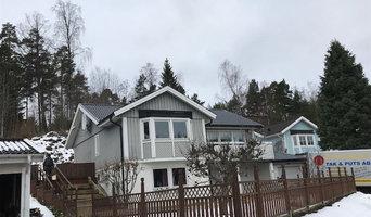 Takomläggning i Södertälje