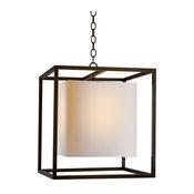 Caged Lantern, Bronze, Medium