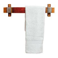 alpine wine design banded barrel stave towel rack small towel bars alpine wine design outdoor finish wine barrel