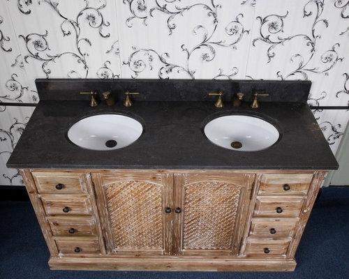 Distressed Bathroom Vanities