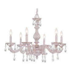 "Crystorama Paris Market, 21"" Six Light Chandelier"