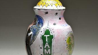 Tango Dancers- vase; Tampa Tango