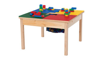 "Duplo Compatible Play Table With Storage Bag, 27""x27"", Without Play Table Cover"